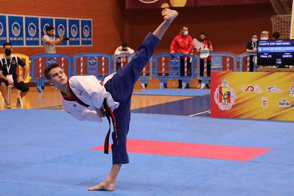 La Bustia Guillem Bonilla Taekwondo Sant Esteve