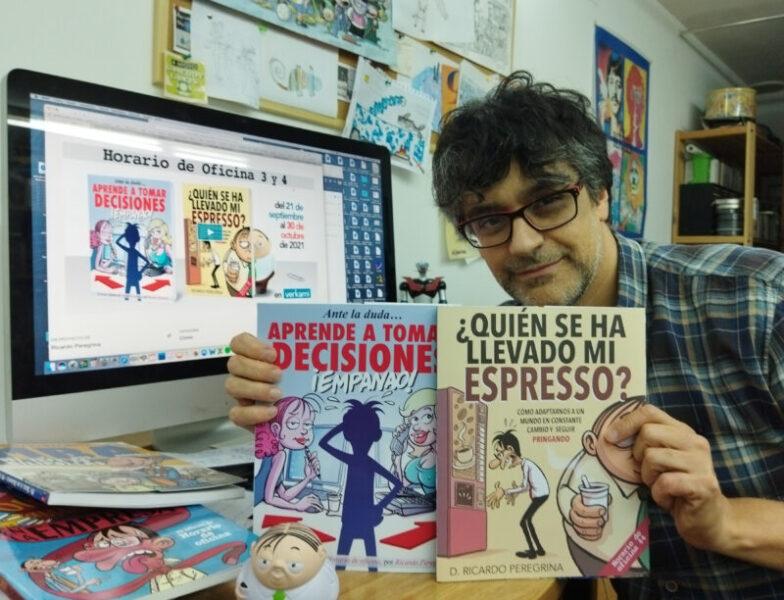 La Bustia Ricardo Peregrina crowdfunding 2 llibres Olesa