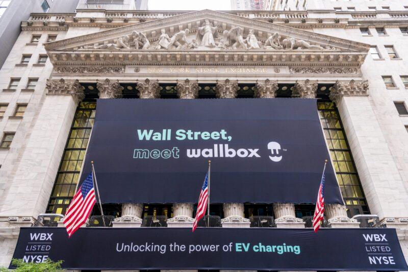 La Bustia Wallbox borsa Nova York (1)