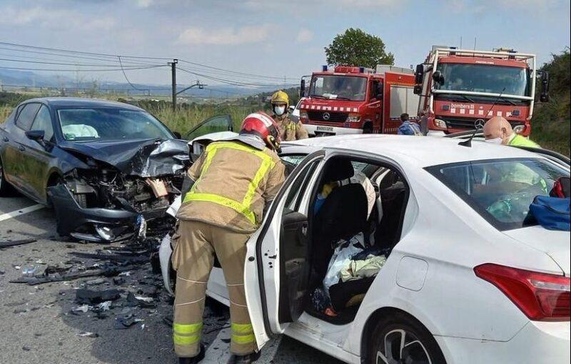 La Bustia accident B224 Masquefa (1)