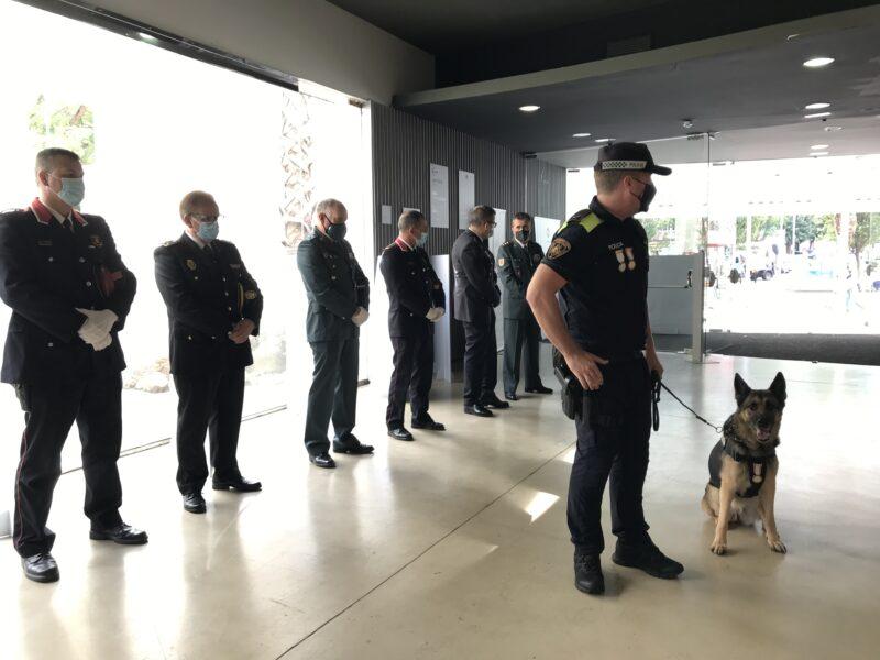 La Bustia kenia acte Policia Local Sant Andreu 2