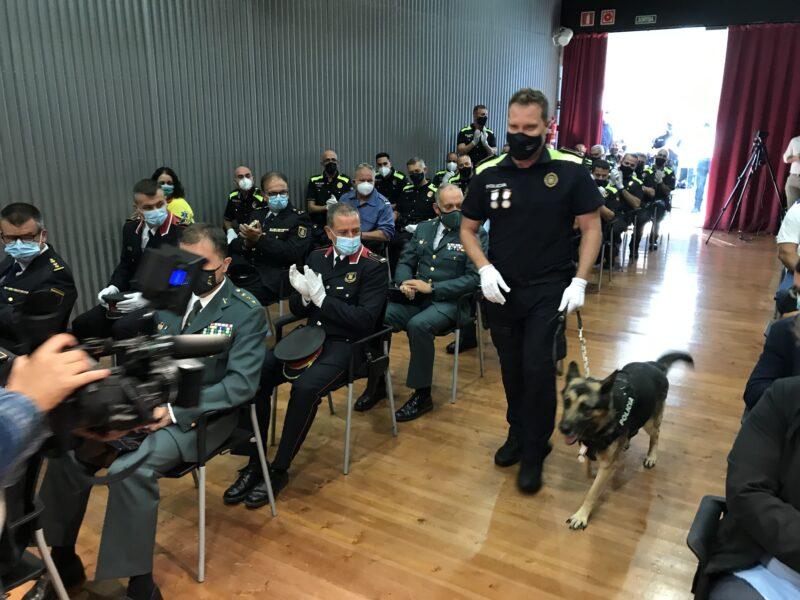 La Bustia kenia acte Policia Local Sant Andreu 6