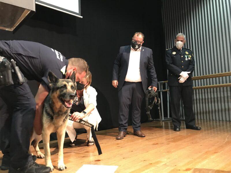 La Bustia kenia acte Policia Local Sant Andreu 7