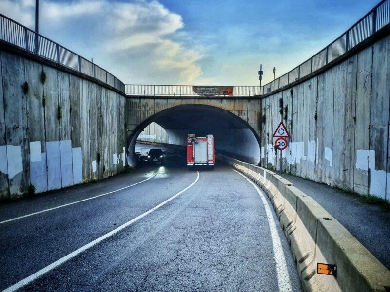 La Bustia pont pas soterrat avinguda centenari Amadeu Vives Collbato