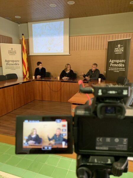 La Bustia presentacio Ajuntament Agroparc Gelida