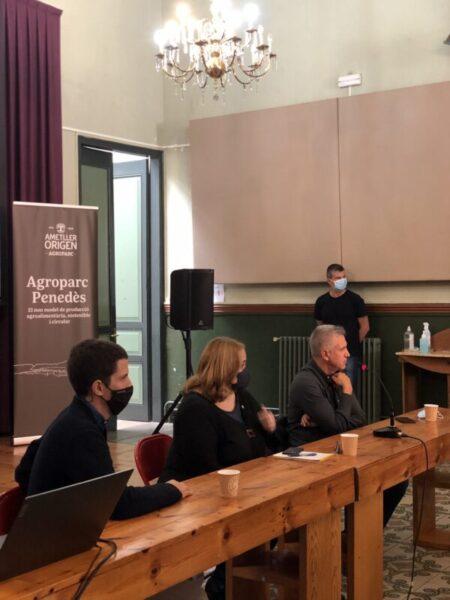 La Bustia presentacio Centre Cultural Agroparc Gelida