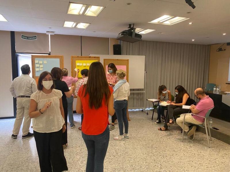 La Bustia primera reunio hub Baix Llobregat Nord