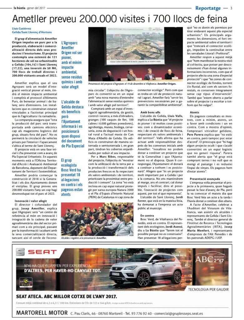 La Bustia reportatge Agroparc 2017